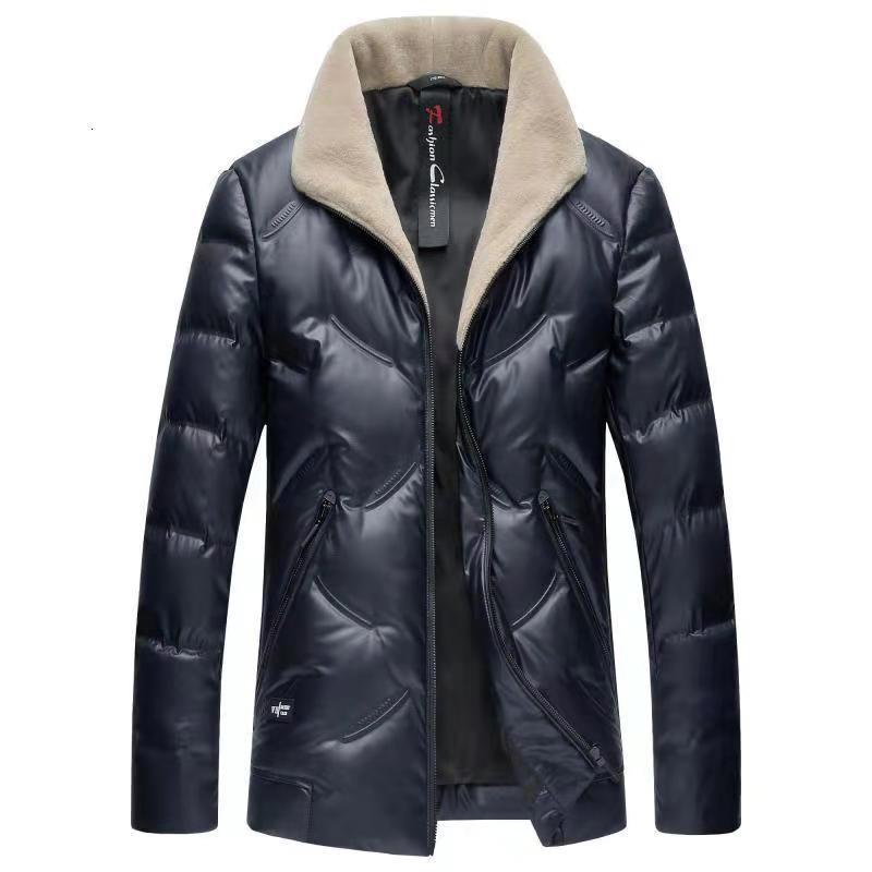 2019 New Brand Inverno 90% bianco Anatra Collari in lana antivento Giacche di moda calda per uomo Down Coat Capispalla