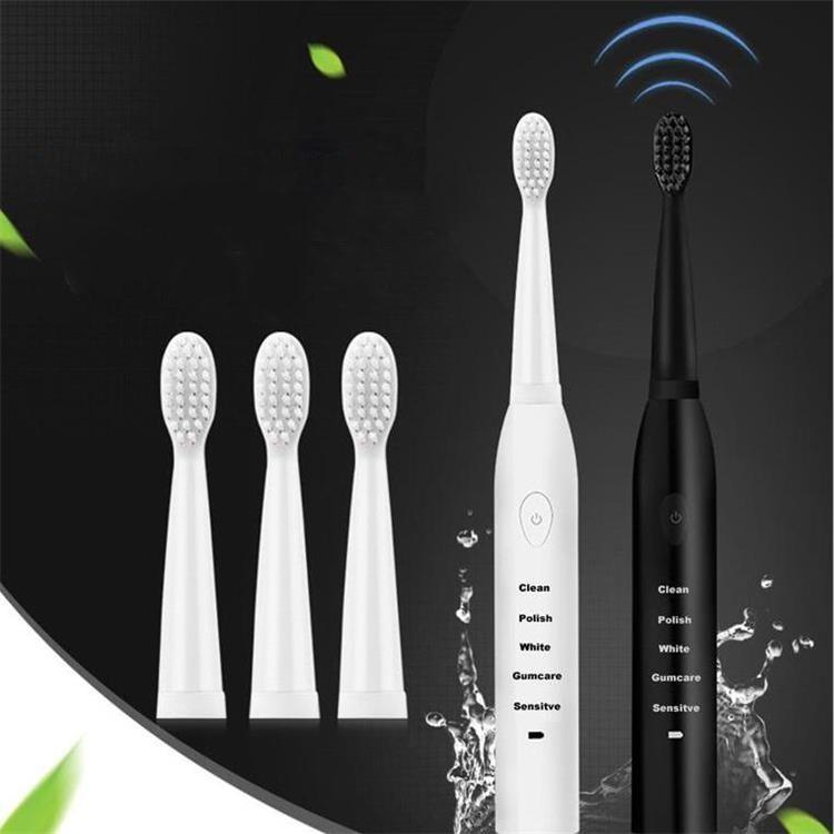 Güçlü Sonic Elektrikli Diş Fırçası Şarj edilebilir 34000time / dk Ultrasonik Yıkanabilir Elektronik Beyazlatma Su geçirmez Diş Fırçası Ücretsiz Kargo