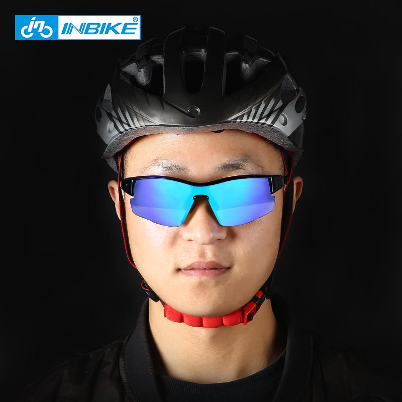 Inbike Polarized Cycling Glass Flexible PC Lens MTB Montaje deportivo Anti-UV GOGGLE EXTRAÑA MYOPIA Clear Vision Unisex Glasses Q0119