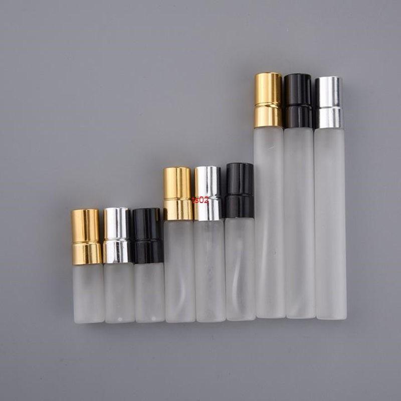 3/5 / 10 ml Şeffaf Mini Taşınabilir Sprey Şişesi Parfüm Cam Şişeler Flakon Doldurulabilir Atomizer Seyahat AccessGood QualTity