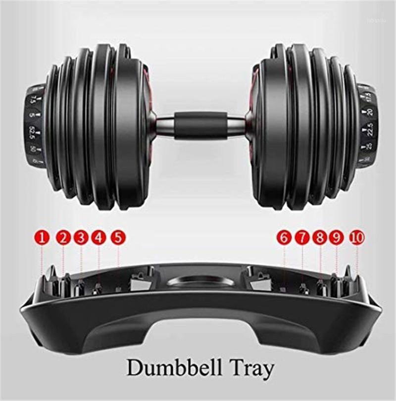 Ayarlanabilir halter, spor salonunda kişisel egzersiz, hızlı ayarlanabilir dambıl seti, 24 kg, 52.5 lb, egzersiz master1