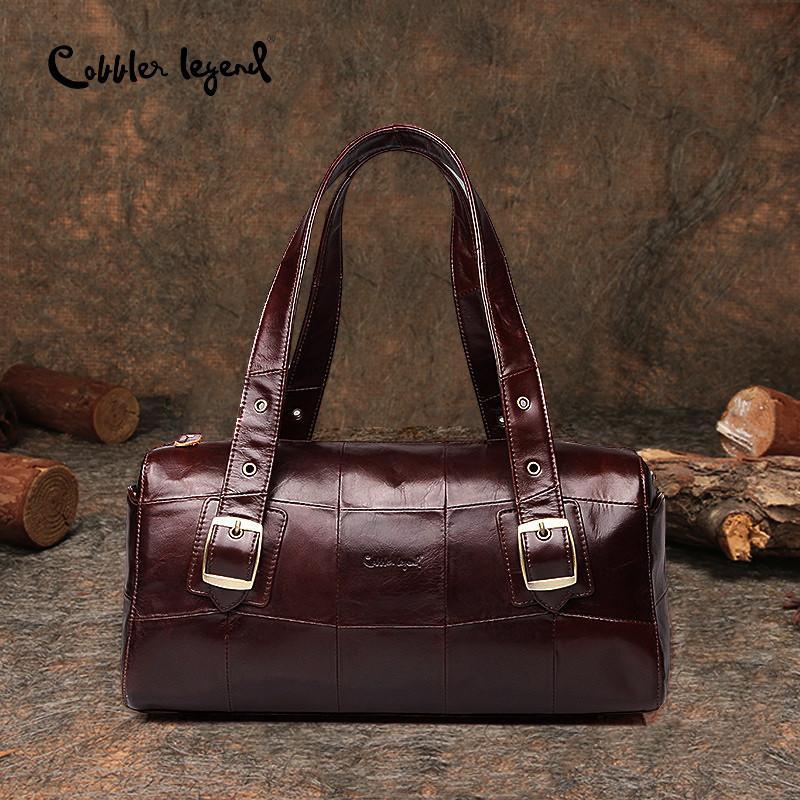 Cobbler Legende 2018 Luxus Handtaschen Frauen Taschen Echtes Leder Weibliche Große Designer Handtaschen Frauen Umhängetasche Top-Griff Taschen
