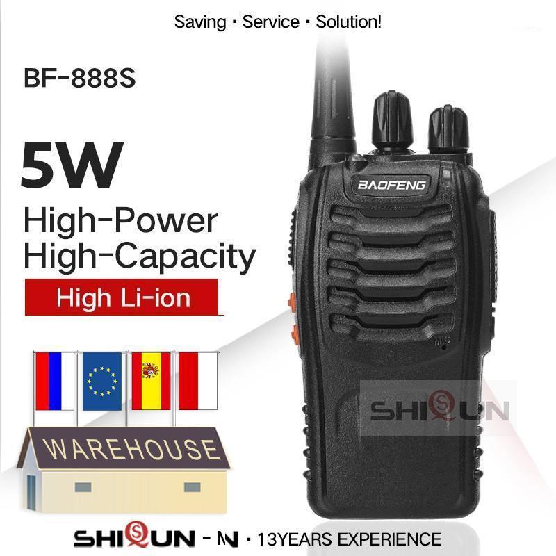 Walkie Talkie Baofeng BF-888S UHF 400-470MHz 888s Rádio BF888s Handy Portable BF 888 Radios BF-C11