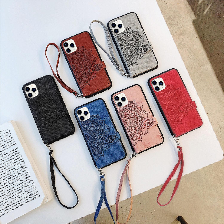 حالة الهاتف مصمم الهاتف لآيفون 12/11 / 11PRO / 11PRO MAX / XR XSMAX X / XS 7P / 8P7 / 8 / Casaul مصممين زهرة طباعة فون حقا غطاء القضية 5 اللون