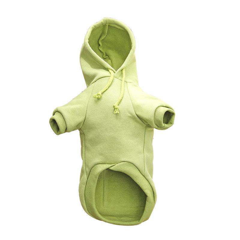 Pet Dog Clothes Fashion Hooded Sweater Winter Warm Dog's Coat Cute Trendy Sweatshirt Outerwears DHL Free Shipping 12 G2