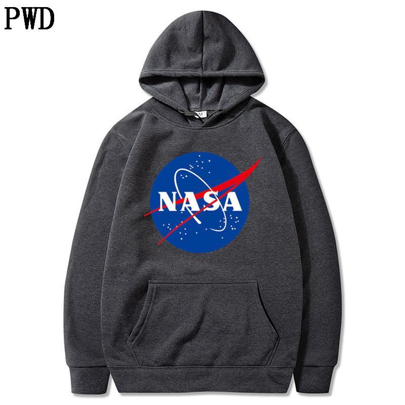 A mais recente moda Nasa hoodies camisolas Casacos Casacos Hoody hoodies camisolas para homens e mulheres S-3XL L-12
