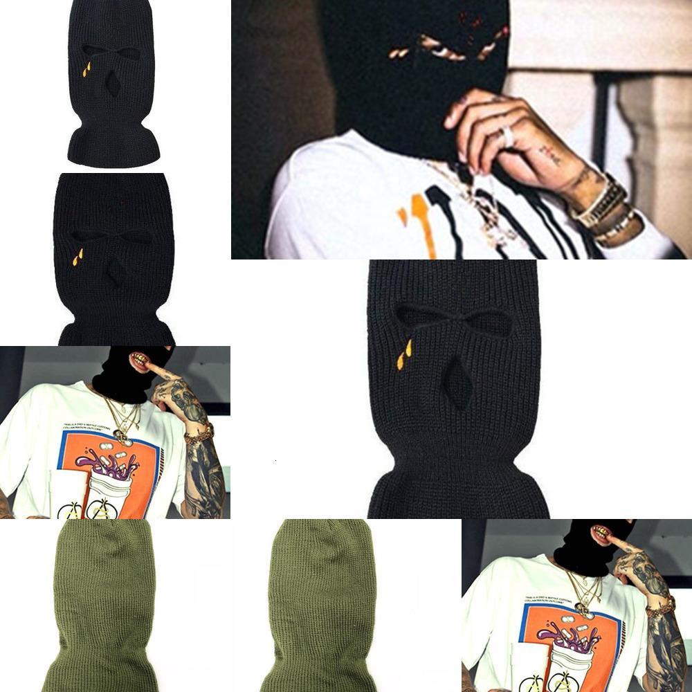 Bandit 2019 Novos Limites Hip Hop V Heads Pop Store Guerrilla Para Loja Wear Wool Caps e Caps Frios Bandi de Dual-Propósito