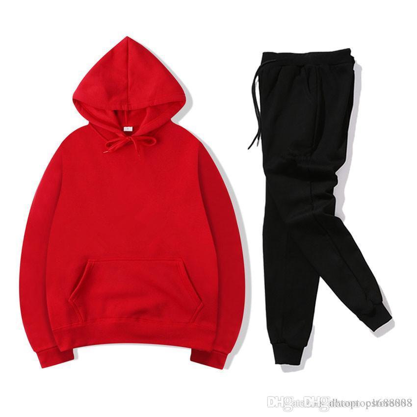 2020 Tracksuit vestiti da uomo e vestiti da donna Abbigliamento sportivo per il tempo libero, usura da jogging, giacca di alta qualità, felpe con cappuccio e pantaloni N.5s