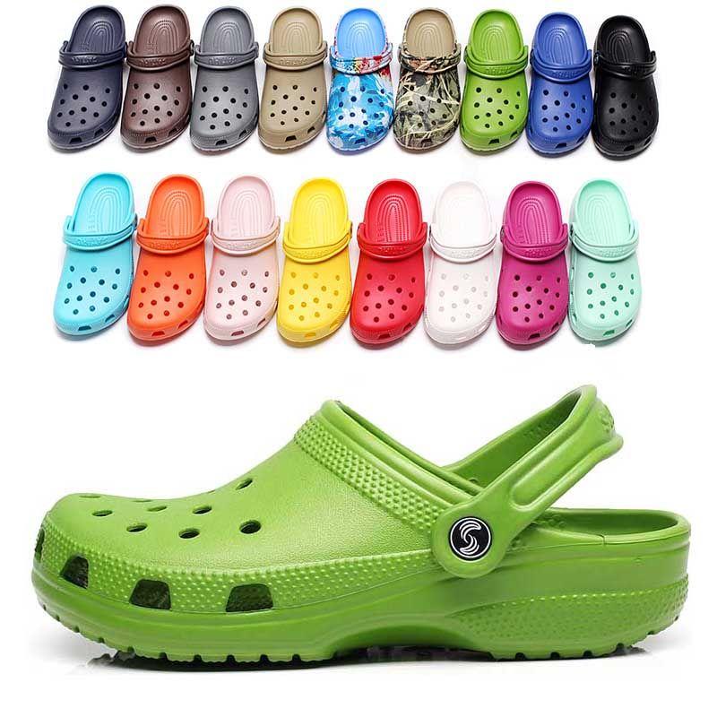 2021 Neue Ankunft Mode Slip On Casual Beach Clogs Wasserdichte Schuhe Männer Klassische Krankenpflege Clogs Krankenhaus Frauen Hausschuhe Arbeit Medizinische Sandalen