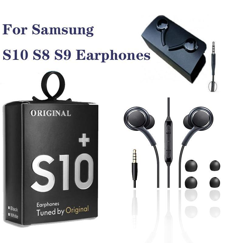 Для Samsung AKG ЭО-IG955 наушников 3,5 мм наушники-вкладыши с микрофоном проводной гарнитуры для Galaxy S10 S9 S8