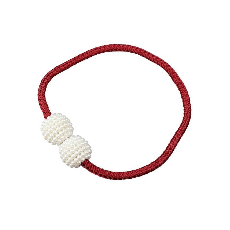 Keine Bohrfenster Vorhänge Schnallen Perle Magnetic Perle Runde Kugelinstallation Frei Vorhanghalter Medium Grob Seil Sehenswürdigkeiten 1 2zc O2