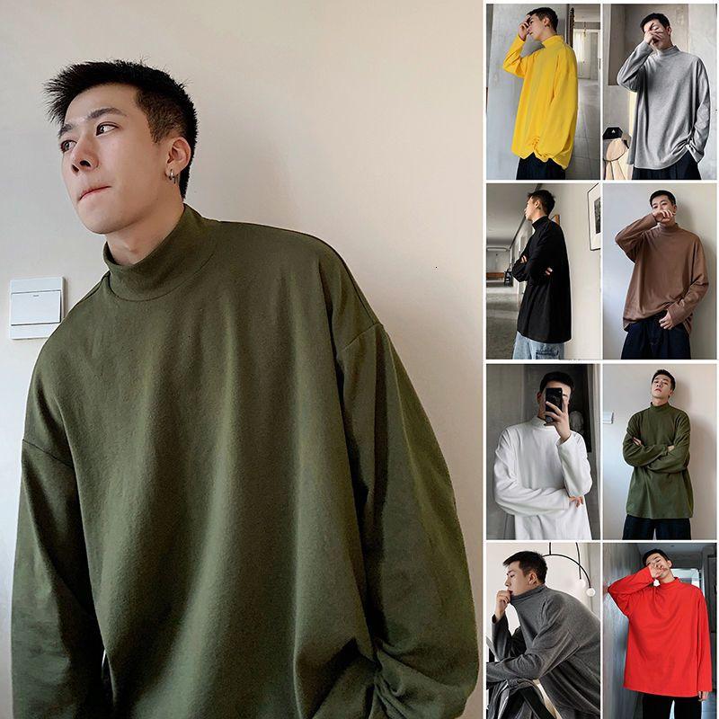 Mond farbe winter warm sweatshirt koreanische streetwear mode pullover hoodie 2020 winter casual männliche mode kleidung