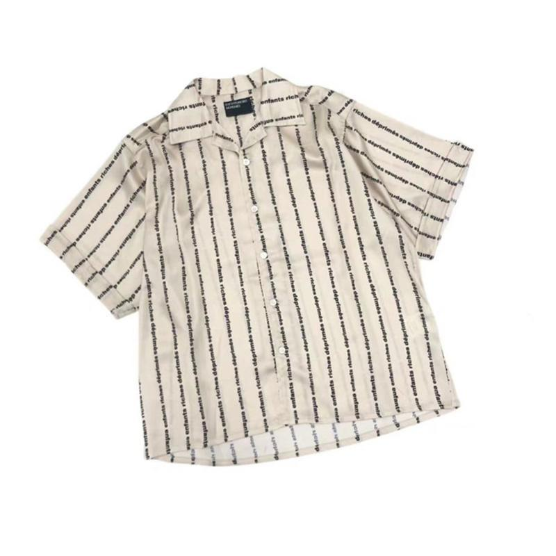 Tam Baskı Logosu Ipek Erd Gömlek Erkek Kadınlar Yüksek Kaliteli Üst Tees E.R.D Erkek Pamuklu Gömlek Gömlek