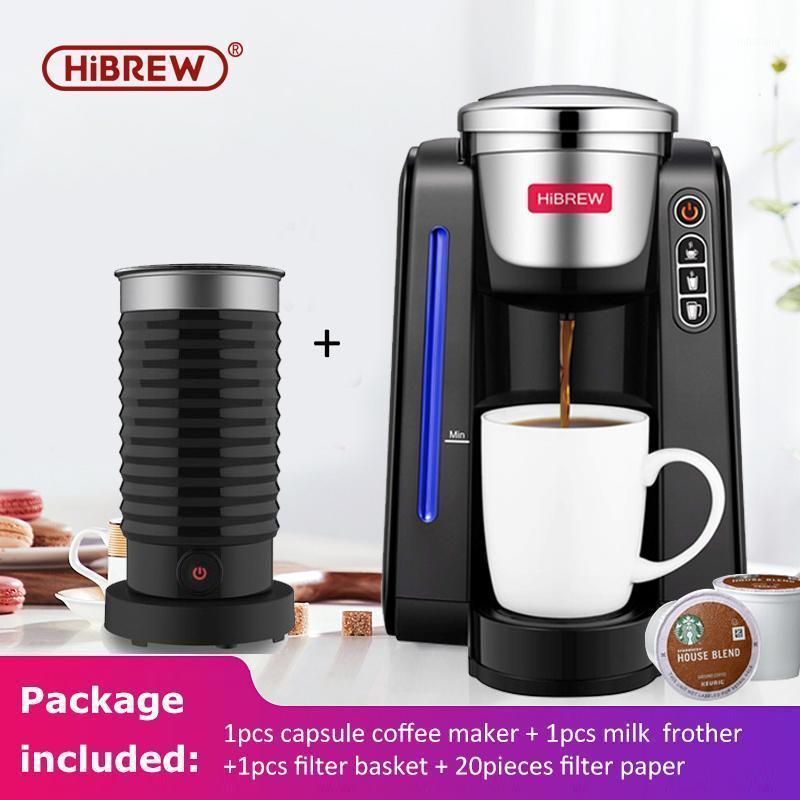 Hibrew-Kaffeemaschine K-Cup Brewer; KCUP Cingle Cup-Kaffeemaschine mit Milch fruchtig1