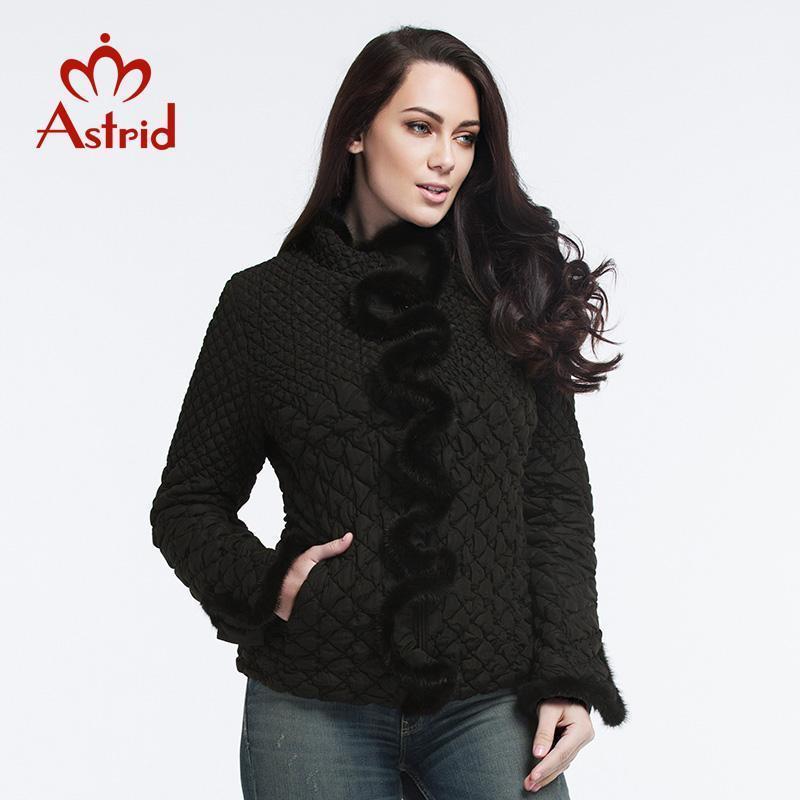 Astrid 2018 Fashion Giacche Femminile per Le Donne Cappotto Inverno Piumino Down Piumino Elastico Tempo libero Ucraina Donne Plus Size XL-6XL AM-88281