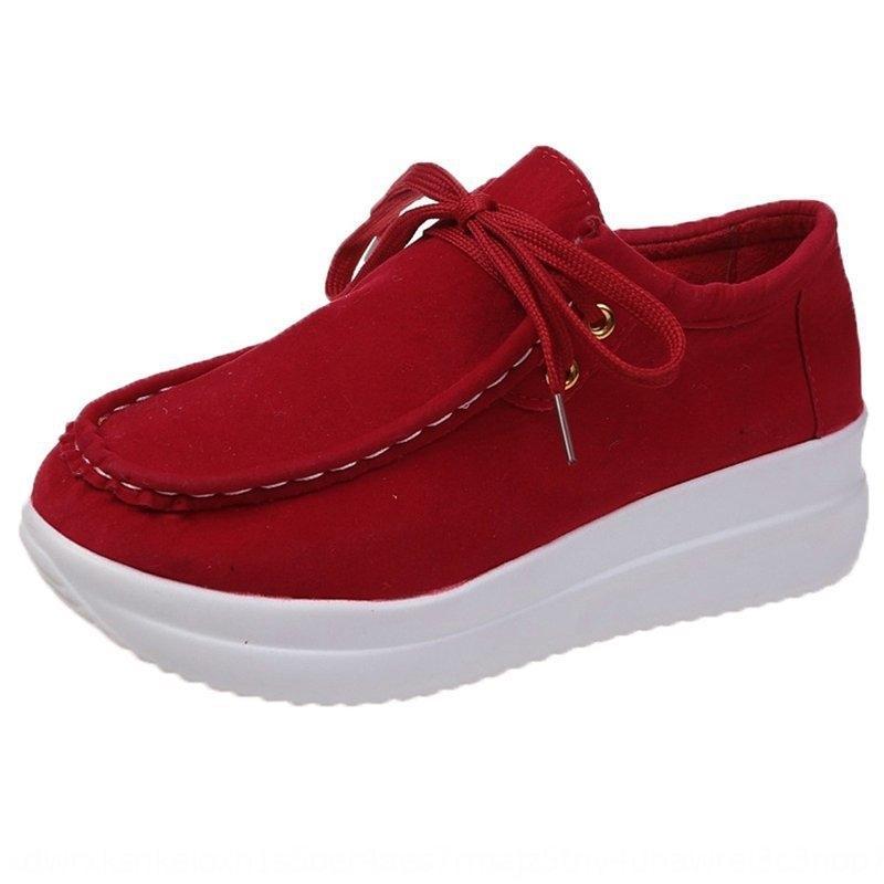 QTBP Nouveau neuf Hot Mode 37-44 Nouveau cuir Chaussures pour hommes Croweshoes Chaussures Casual britanniques 2020 Expédition Espadrilles # 19