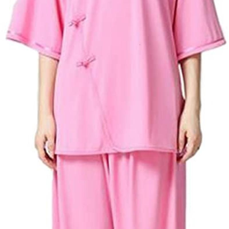 ZooBoo Tai Chi Uniform Clothing - Chinese Traditional Tai Chi Apparel Kung Fu Clothing for Women - Crystal Hemp