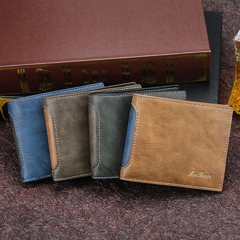Neue Kurz- Mode Freizeitspleiß-Multi-Karte Drei-Falten-Pack-Herrenbranche International