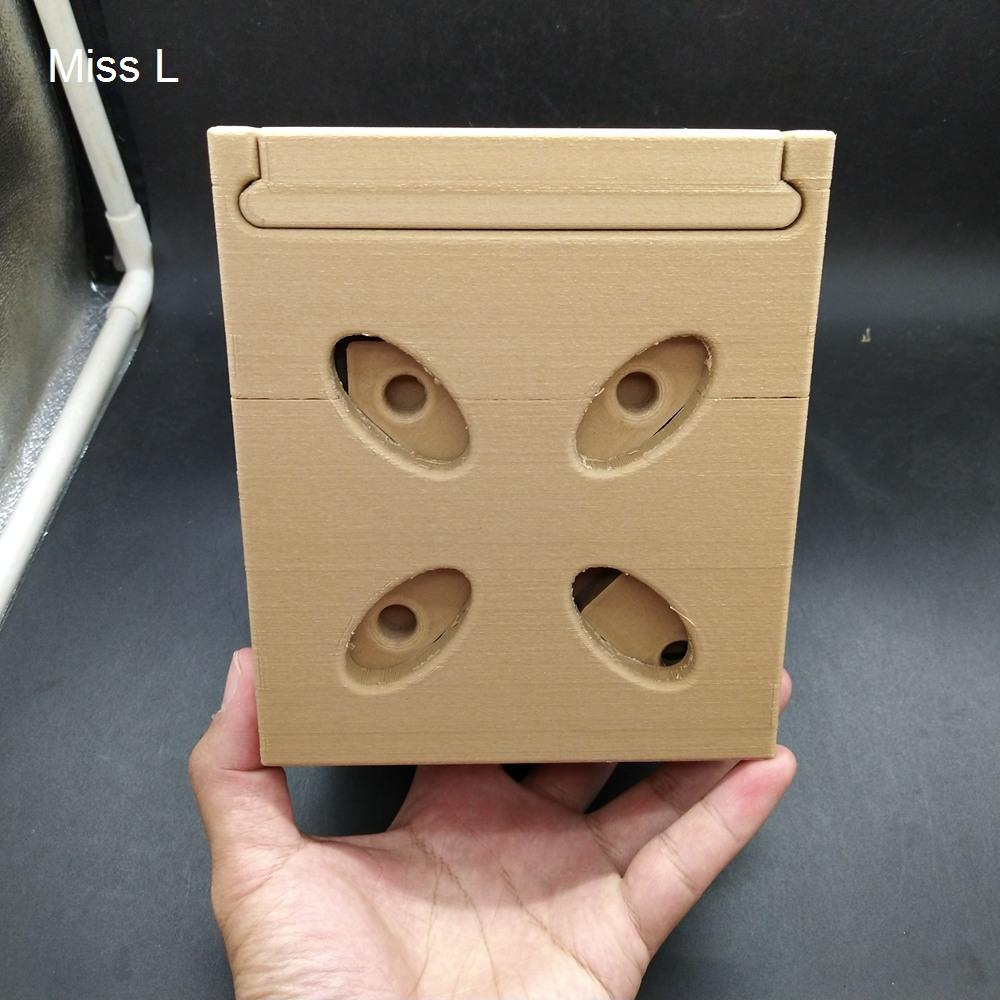 15 * 13 * 13 سم الدماغ دعابة اللغز الصلب مربع السري لعبة هدية الذكاء هواية المقتنيات العقل لعبة PLA المواد