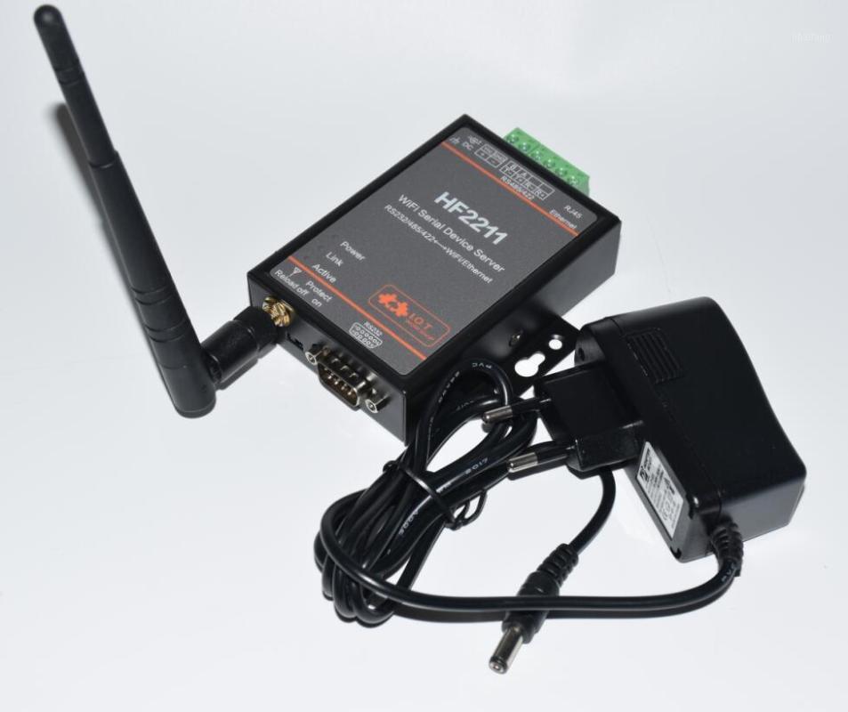 HF2211 Serial an WIFI RS232 / RS485 / RS422 an WIFI / Ethernet-Konverter-Modul für die industrielle Automatisierungsdatenübertragung1