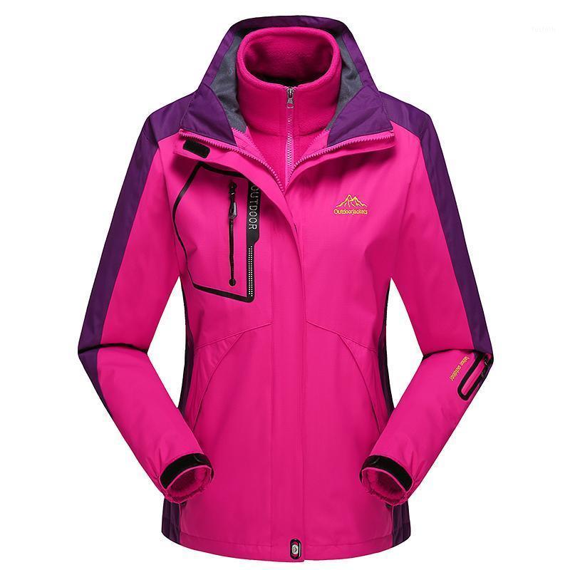 Женские куртки бренда женская куртка Parkas Coats для мужчин зимняя ветровка Jaquea термальная верхняя одежда водонепроницаемый три шт.