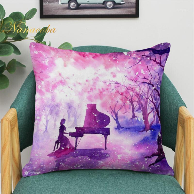 Подушка / декоративная подушка Claude Monet Polyester Print Coushion Couss Cover Sofa Paille World известная живопись маслом бросить декоративный чехол дома