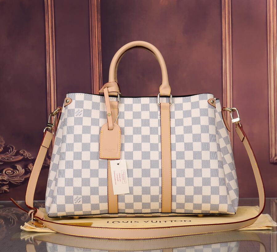 tek omuz haberci çantası yüksek kaliteli deri fermuar çanta baskı Hazır stok Bayanlar çanta klasik moda mektup