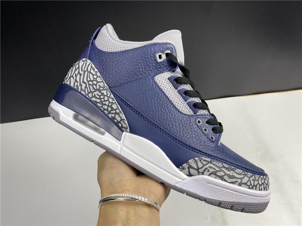 2020 Yeni Erkekler 3 S Basketbol Ayakkabıları 3 Midnight Donanma Lüks Eğitmenler Atletik Ayakkabı Spor En Kaliteli Sneakers ile Kutusu