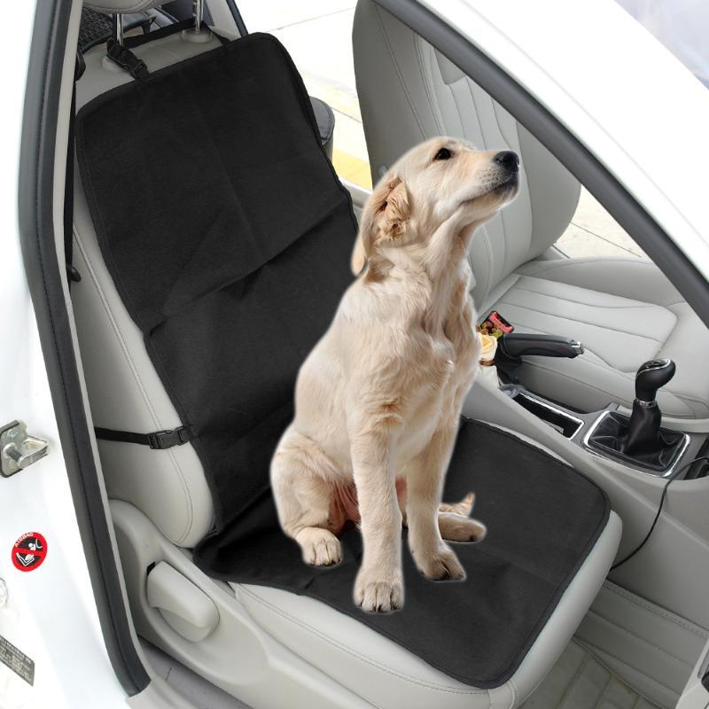 Travel Oxford Waterproof Dog Car Seat Cover Pet Carriers Front Seat Mat Carrying Pet Car Travel Accessories Dogs Supplies