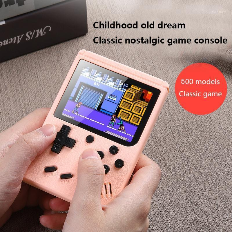 Retro Handheld Video Games Console Built-in 500 3.0 Inch Screen Portable 8 Bit Gaming Player Mini Pocket Gamepads1