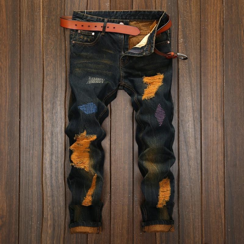 QZV2 оптовые ценные бумажные шорты грузов Бермудские острова Homme мужские шорты мужские мыть джинсовые короткими мода джинсы шорты Homme