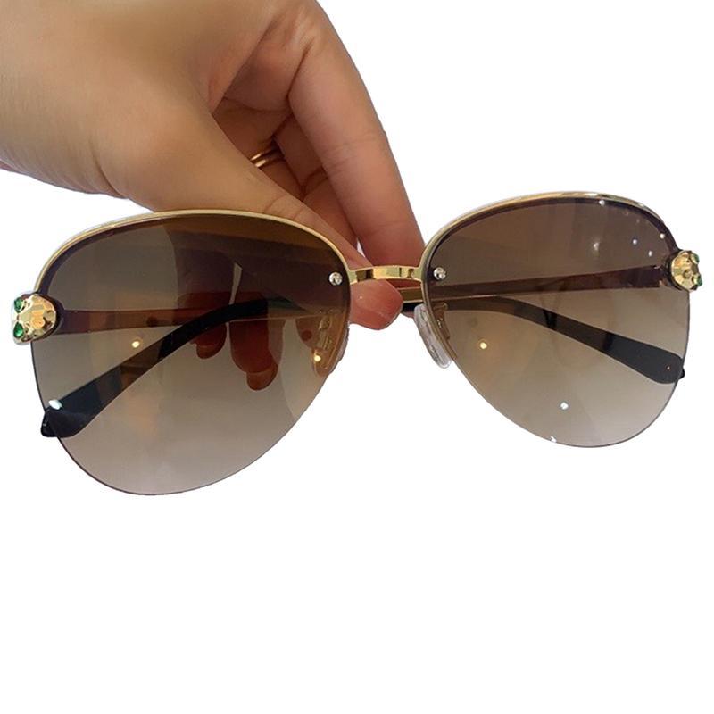Klassische Weinlese-Pilot-Sonnenbrille-Frauen 2020 Luxusmode Sonnenbrillen Weibliche Uv400 Brillen Lentes De Sol Mujer
