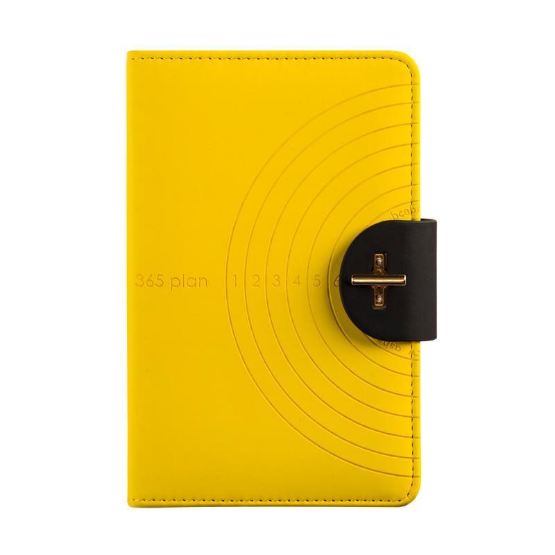 2021 Creative A6 Square Schedule Planeje esta grade mão livro eficiência manual notebook fresco