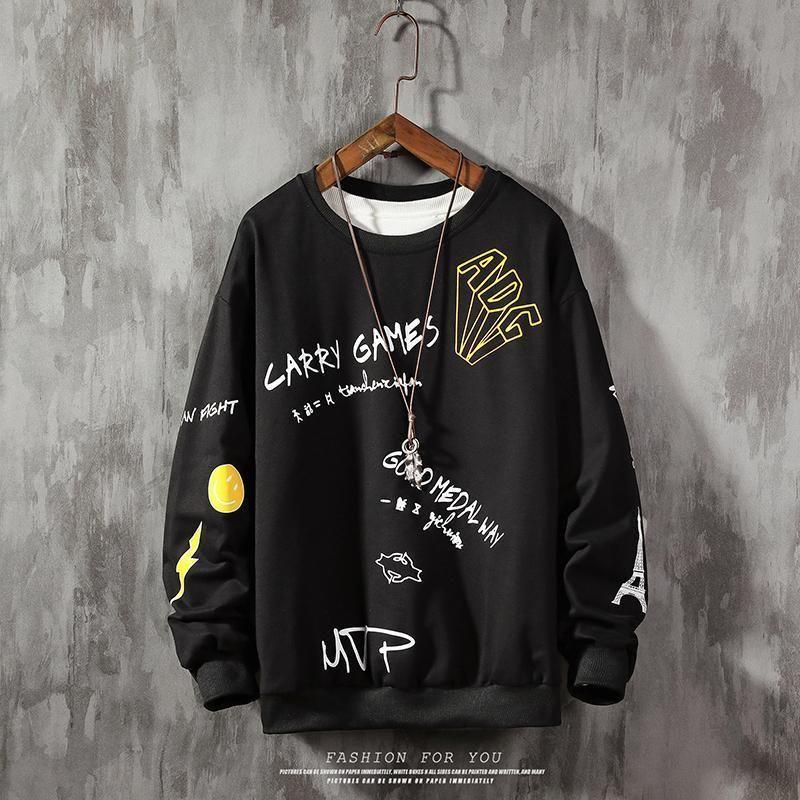 Brand Hommes Sweat-shirt MVP Imprimer Sportswear Plus Taille Sweatshirt Mâle Streetwear Pull-shirt Hommes Sweatshirts Sweatshirts