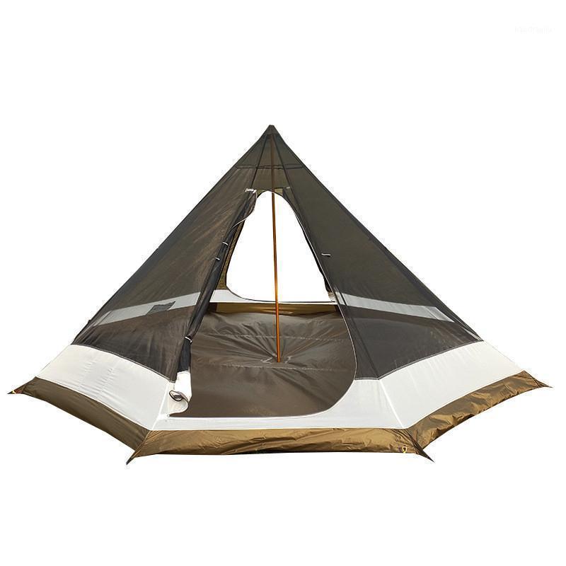 XC à l'intérieur de la pyramide Camping Camping ultra-léger Pyramide Pyramide Inside Tente Sac à dos en plein air Randonnée Randonnée Touriste Sans Randonnée treillie treillis1