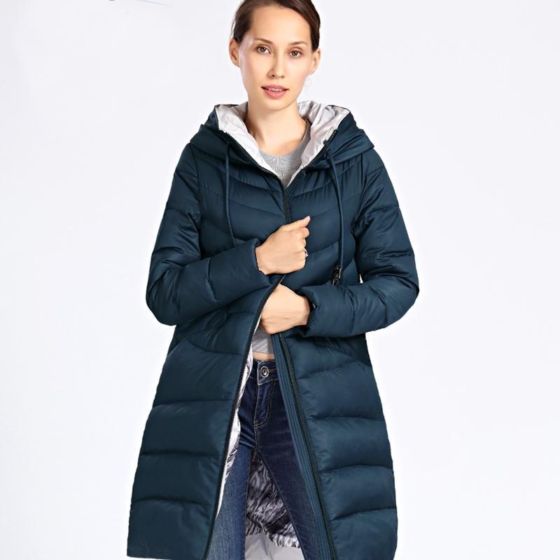Новая зимняя куртка женщины плюс размер длинные толстые мода женские зимние пальто с капюшоном вниз куртки Parka Femme Docero 201006
