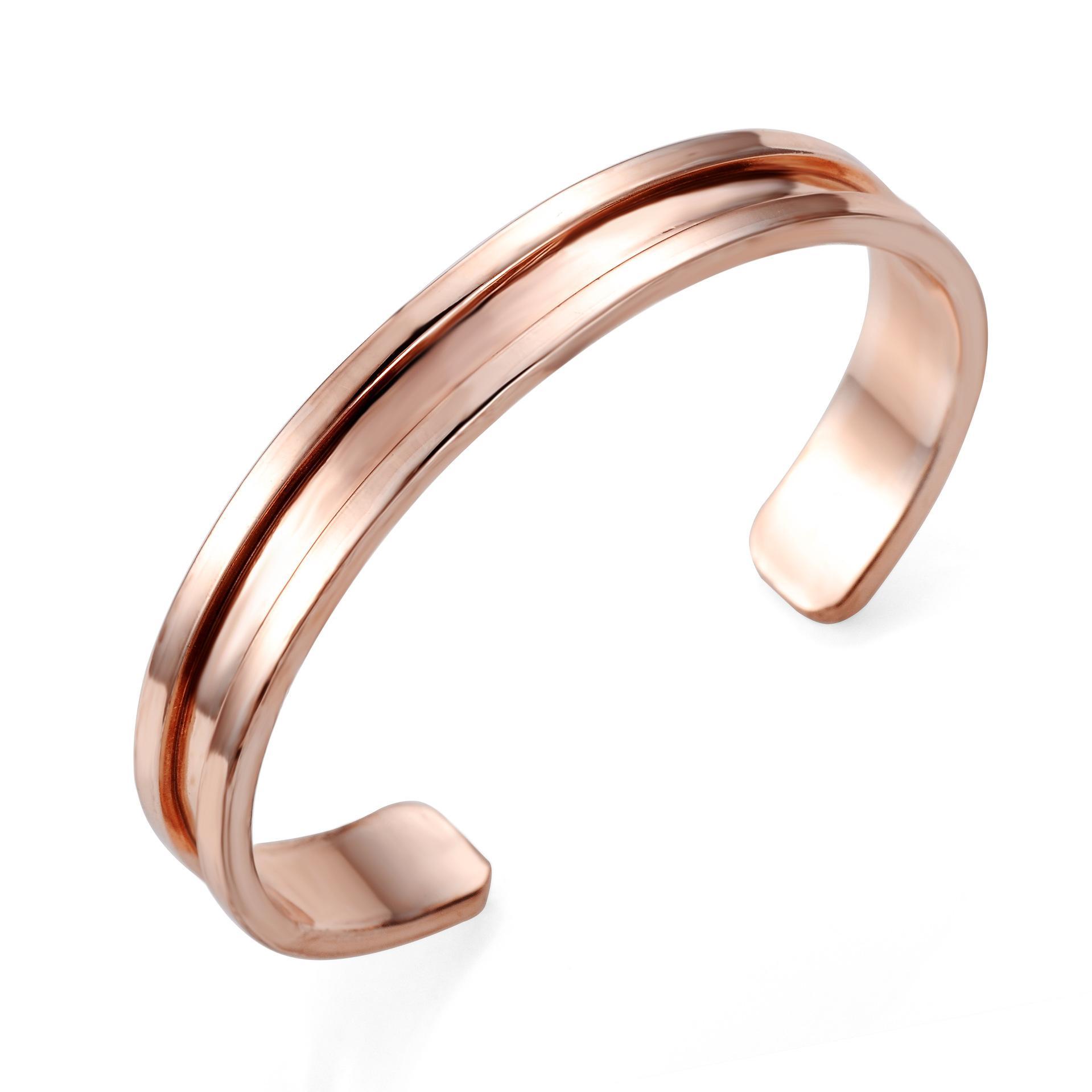Art und Weise 316L Titanstahlarmbänder Art und Weise Haargummi Armband offen Titan Stahl nette Armbänder für Frauen und Mädchen