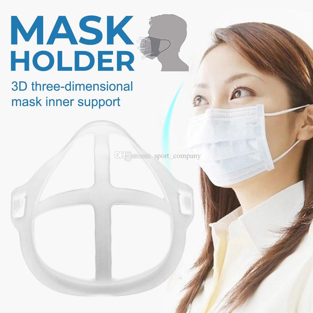 En Çok Satan 3D Maske Sahipleri Nefes Vana Ağız Destek Ruj Koruma Yüz Parantez Food Grade Silikon Yüksek Kalite Maskesi