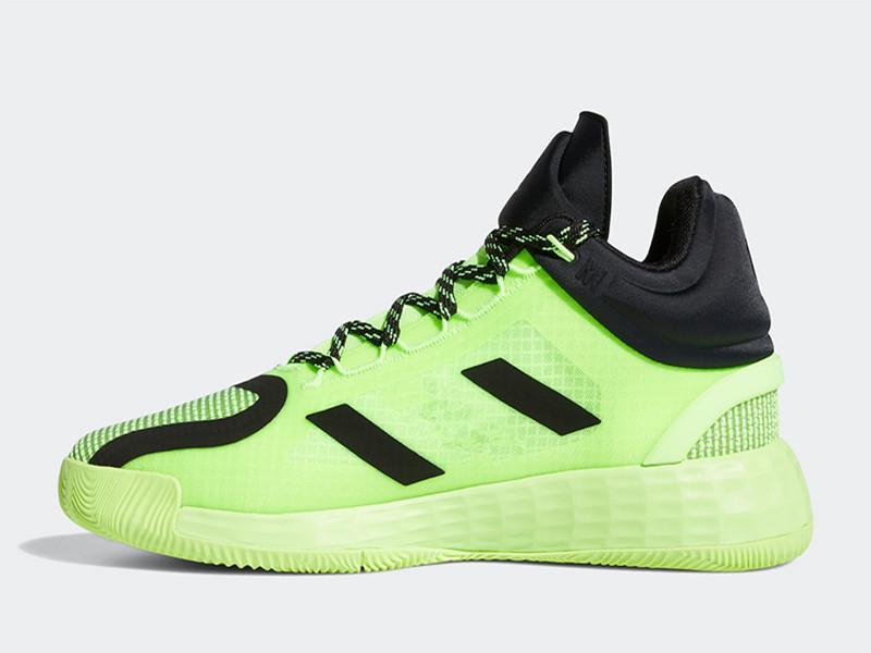 2020 حذاء D روز 11 الإشارة الخضراء لكرة السلة مع الأحذية مربع جديد ديريك روز 11 لب الأسود الإشارة الأخضر الرياضة تخزين US7-US11.5