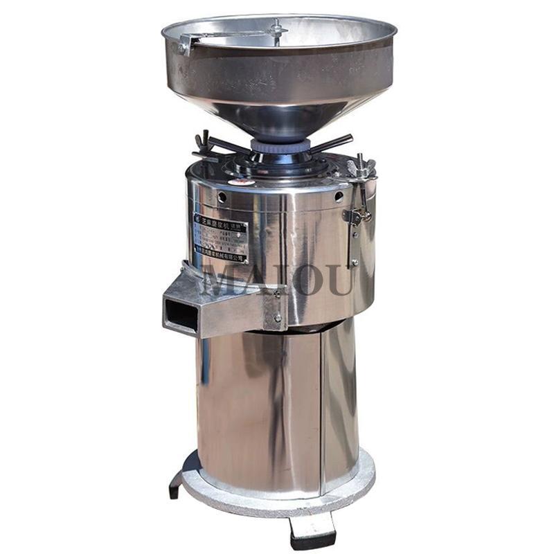 30kg / excepcionalmente automático manteiga de amendoim tahini molho de porca molho de cacau chopper máquina de pó refinador220v 1500w