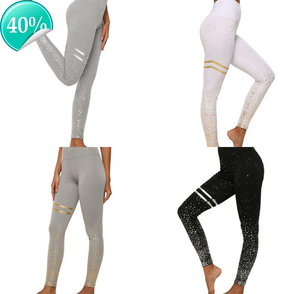 Ударные штаны для одежды Activewear высокая талия фитнес легинги розовые сексуальные женщины wa5e