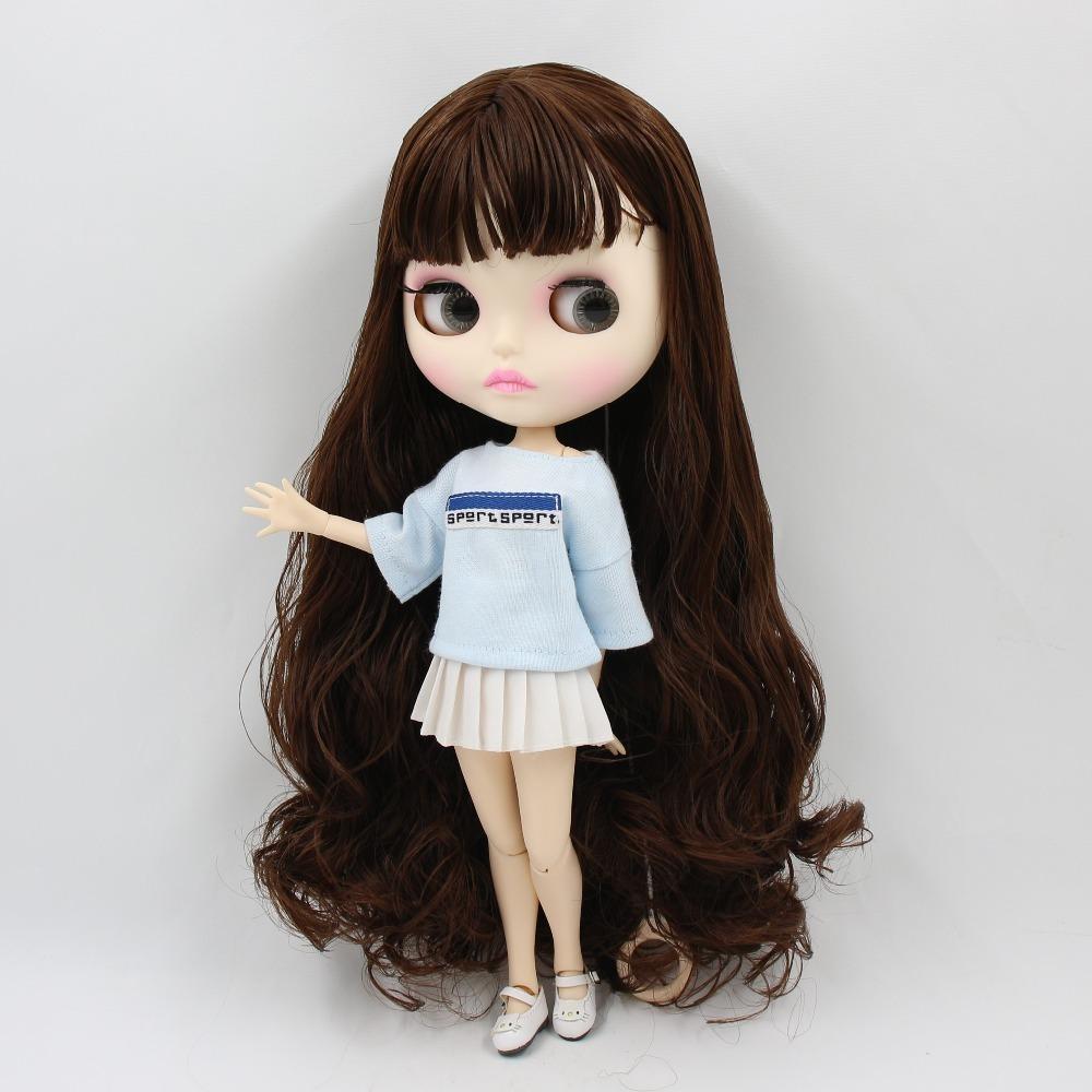 ICY DBS Blyth Кукла 1/6 Игрушка BJD Neo 30 см Blyth пользовательских кукол суставное тело специальное предложение в продаже Случайные глаза цвета 30см 201203
