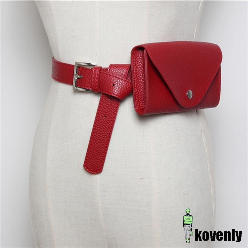 Yeni Bel Çantası PU Deri Fanny Paketi femal Kemer Telefon Kılıfı Küçük Göğüs Paketi Çantalar Vintage Kadınlar Kemer Messenger Çanta 54