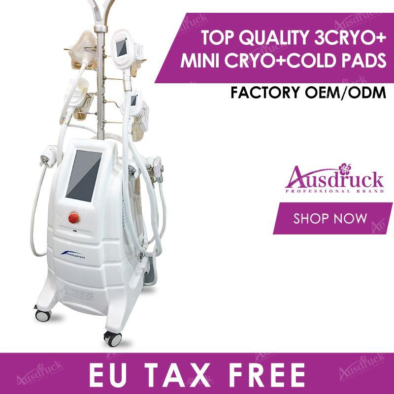 UE Tax Free vide Mise en forme fraîche cryothérapie Cryo Pads 360 Fat Gel minceur Machine Double Chin Lipofreeze Fat Gel Cryolipollysis