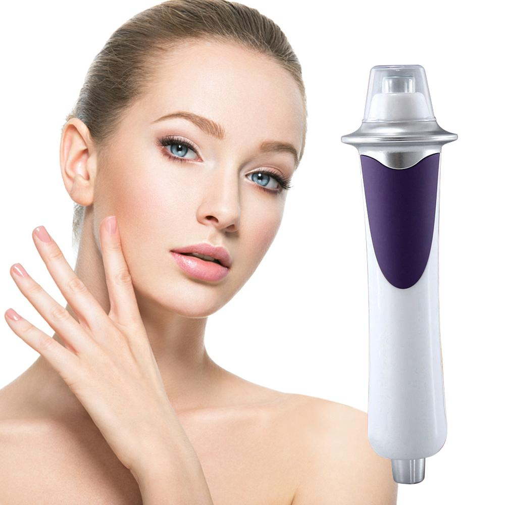 Portable RF EMS Microcurrent Face Beauty Pen Multifunction Radio Frequency Skin Face Lifting Massager Anti-aging Wrinkle Remover