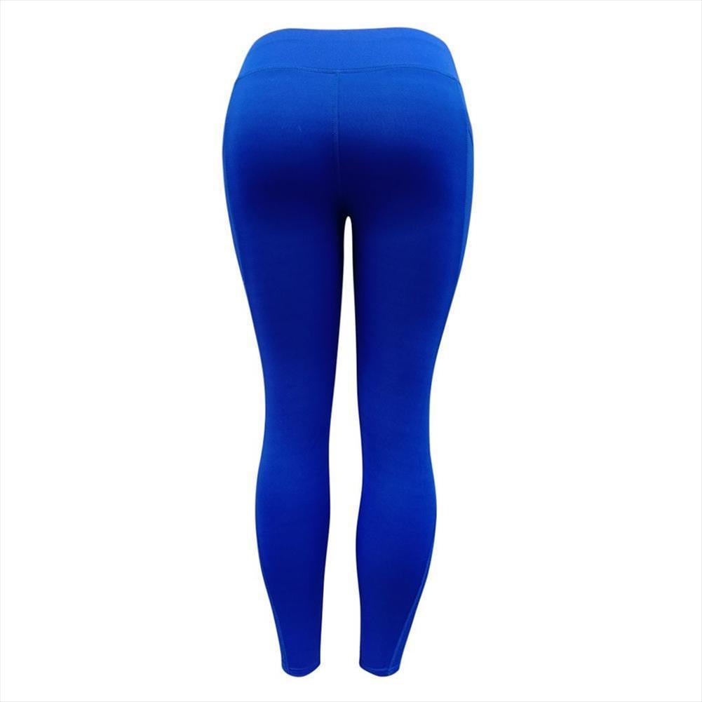 Womens Sexy Leggings elastico vita alta Indietro Legging Butt Lift Pants Hip Push up allenamento Stretch Capris Deporte Mujer D