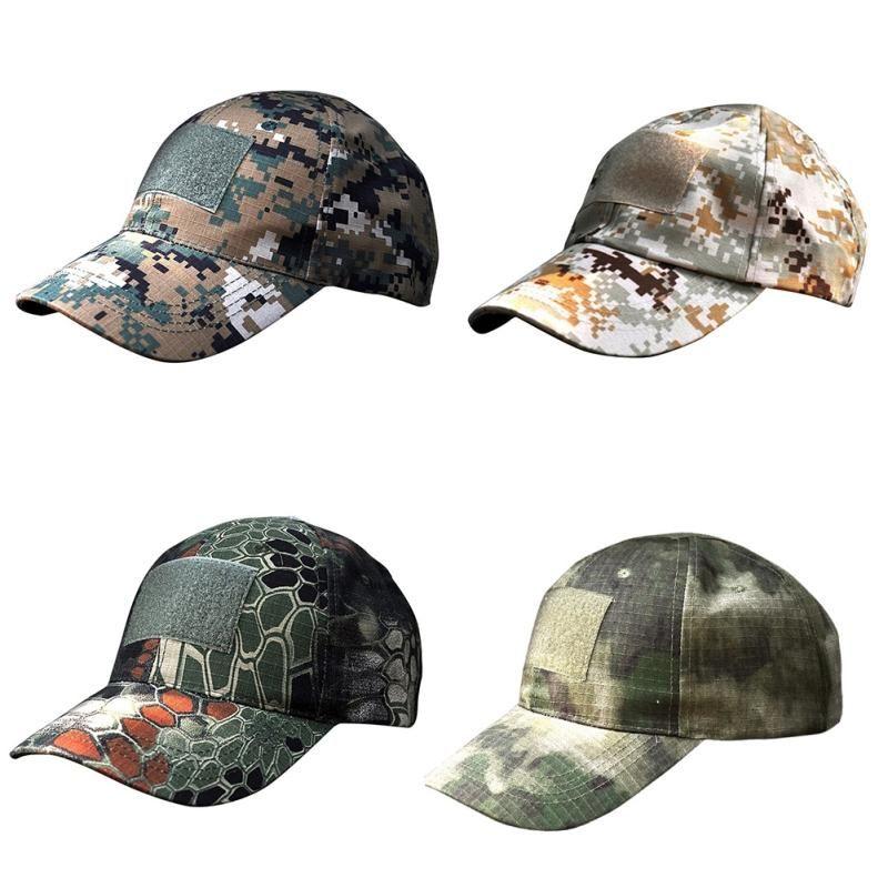 Tattiche Cappello Jungle Digital Outdoor Sports Fan Army Cap Caccia Alpinismo Hat Camouflage Cap