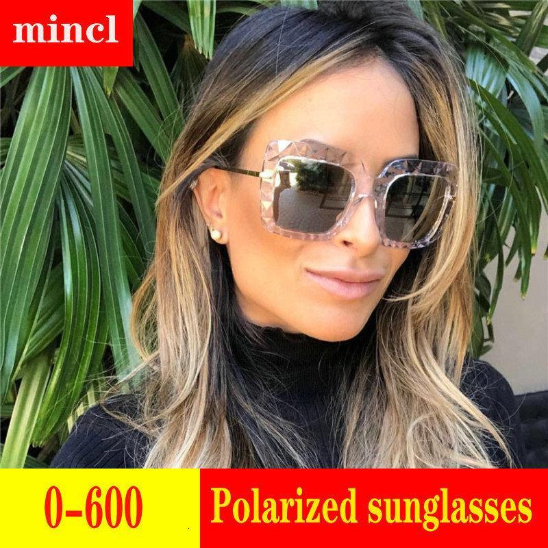 Dioptrique fini Myopie Hommes Femmes Lunettes Nearsighted Lunettes de soleil mode de conduite de polarisants hommes avec la boîte FML