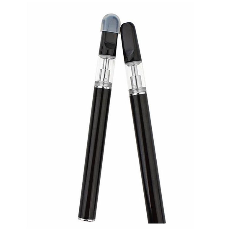 Disposable Vape Pen Rechargeable E Cigarettes Kits 0.5ml 1.0ml USB Charge Port Ceramic Coil Empty Glass Cartridge Ceramic Mouthpiece Vapes