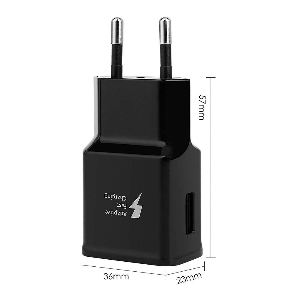 Für Samsung-Galaxie Gefühl 2 A40 A50 A70 A20 A90 S8 S9 A7 A5 2017 Telefon QC 3.0 4.0 Schnell-Ladegerät Typ C USB-Schnell-Ladekabel